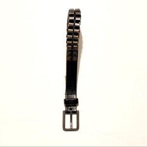"Black Diesel Leather Belts Size 95CM/38"""